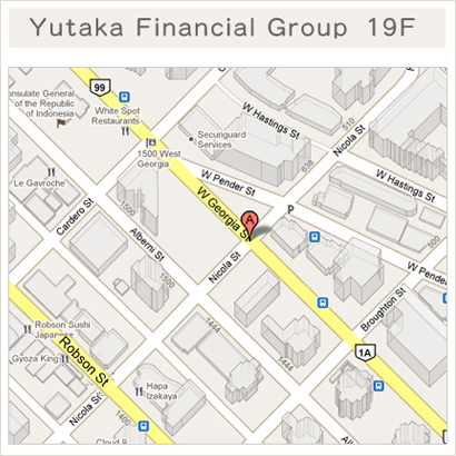 Yutaka Financial Group Map